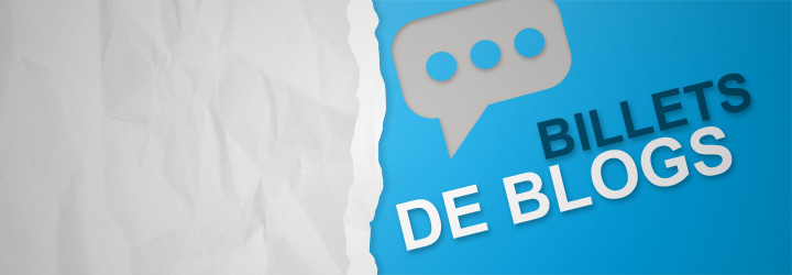 Rédaction de billets de blogs