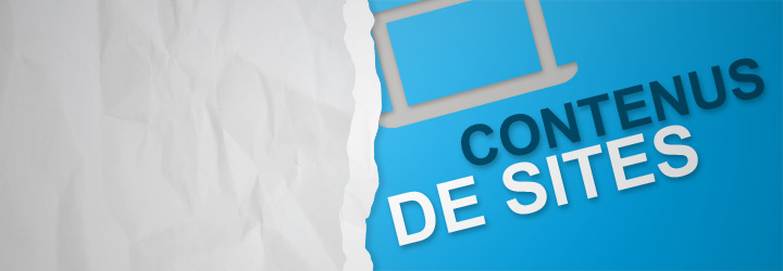 Rédaction de contenus de sites